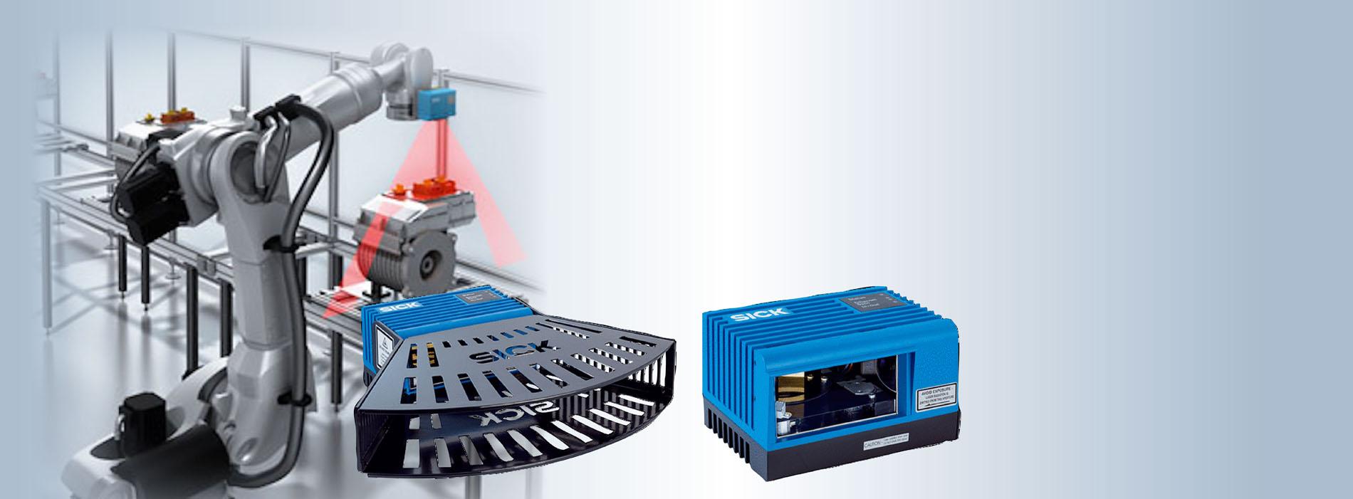 2D-LiDAR LMS4000 sensor